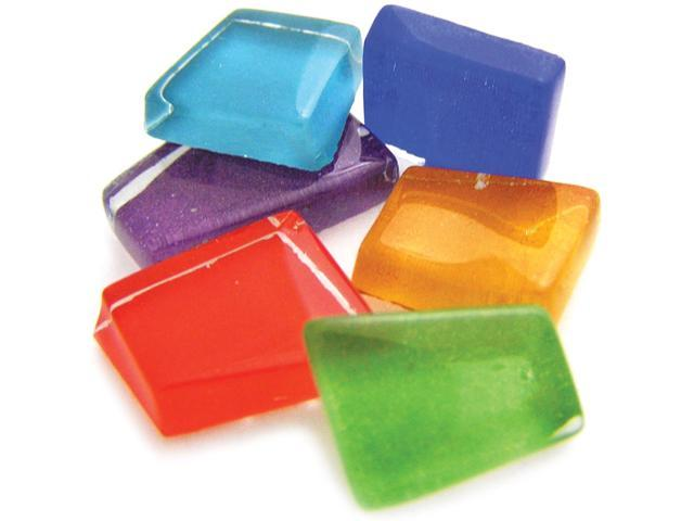 Mosaic Mercantile CC-SP Crafters Cut Assorted Sparkle 1-2 Pound-Pkg