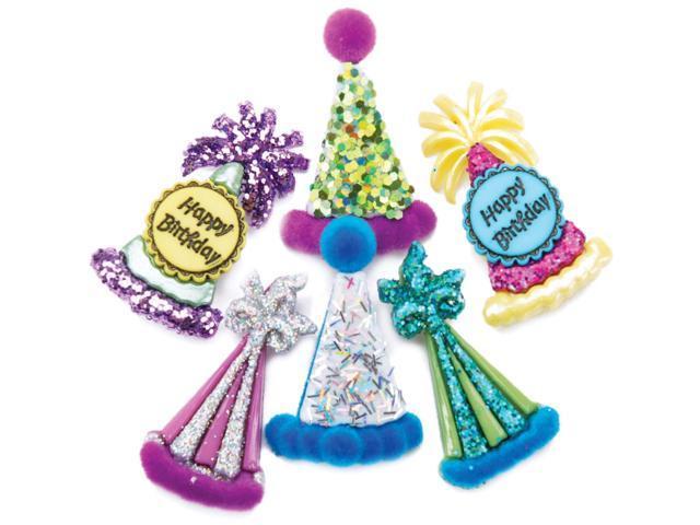 Dress It Up Embellishments-Party Hats
