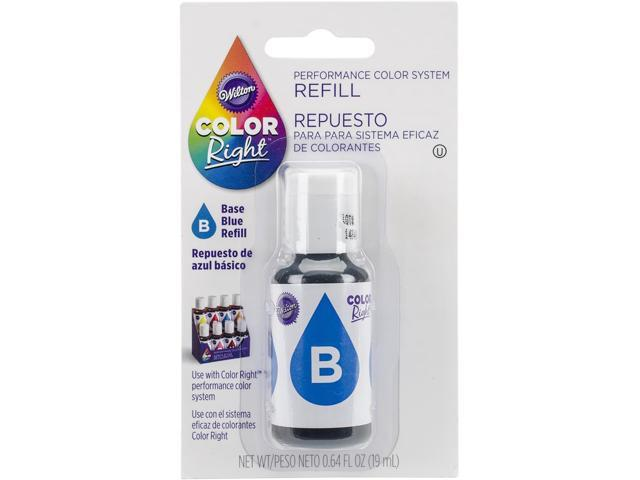 Color Right Performance Color System Refill .7oz-Blue