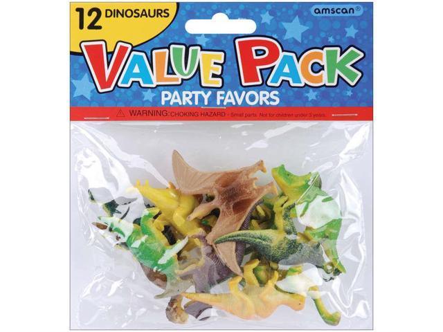 Party Favors 12/Pkg-Dinosaurs