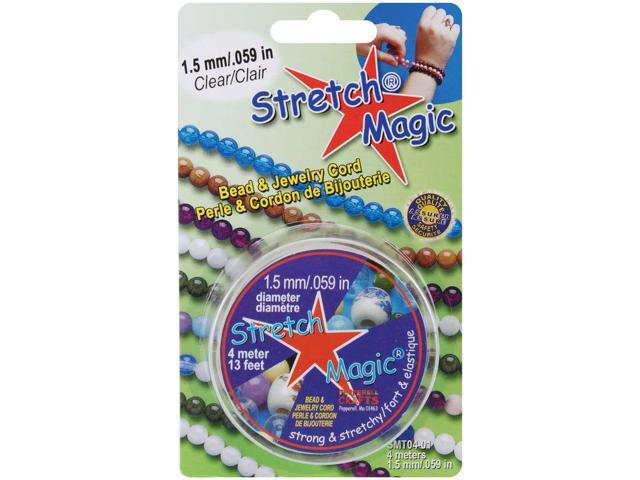 Stretch Magic Bead & Jewelry Cord 1.5mmX4m-Clear