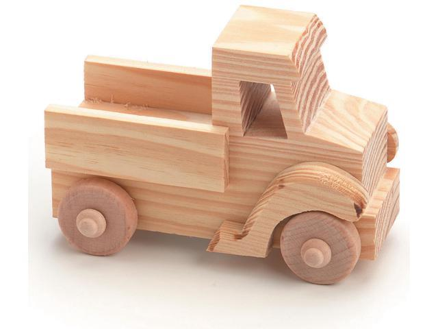 Wood Model Kit-Truck 4