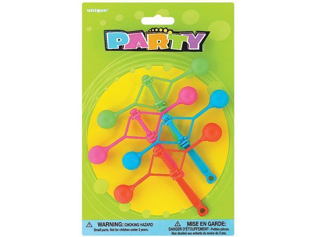 Party Favors 4/Pkg-Mini Party Klackers