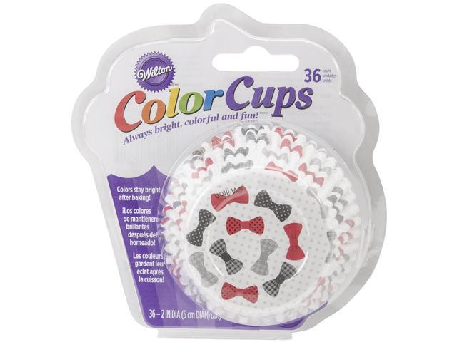 ColorCup Standard Baking Cups-Bow Ties 36/Pkg