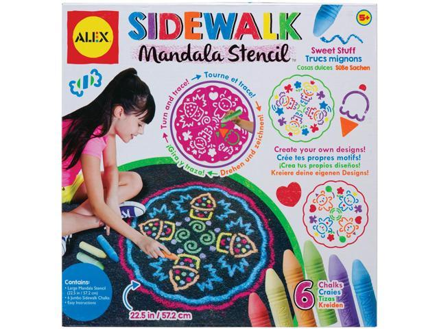 Sidewalk Mandala Kit-Sweet Stuff