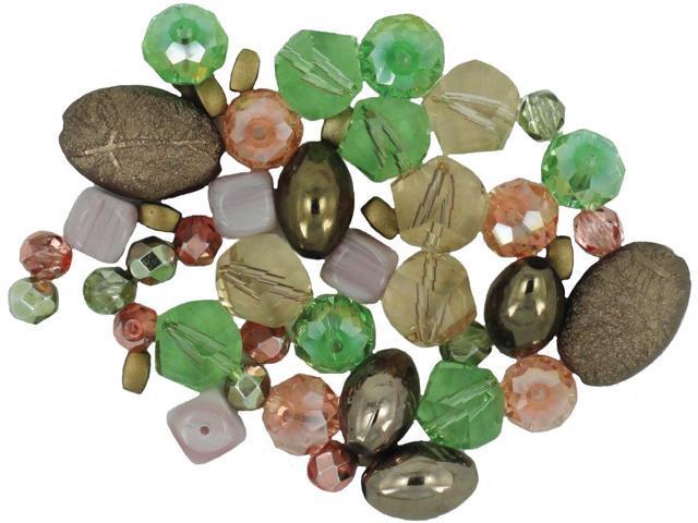 Design Elements Beads 28g-Fools Gold