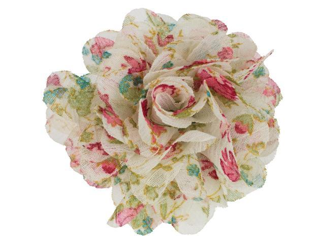 Snap In Style Formal Snap 1/Pkg-Floral Print Flower