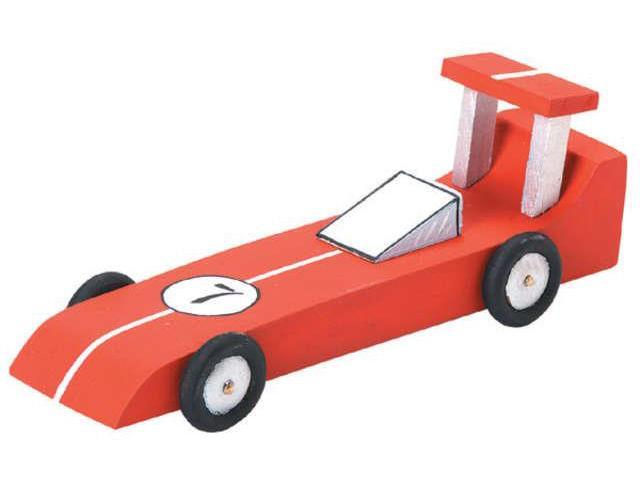 Wood Model Kit-Race Car 6.25