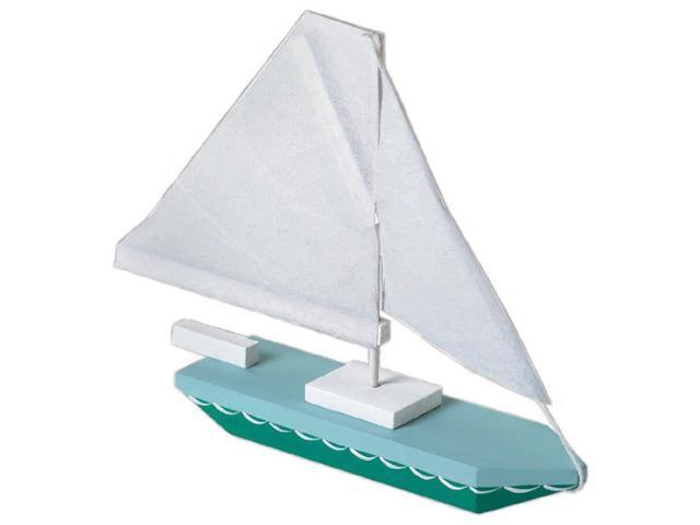 Wood Model Kit-Sailboat 7