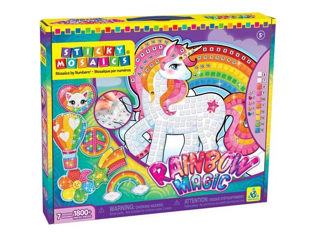 Sticky Mosaics Kit-Rainbow Magic