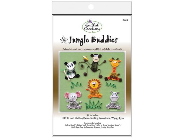Quilling Kit-Jungle Buddies