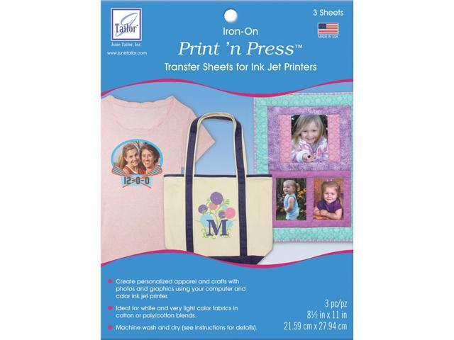 Print 'n Press Iron-On Transfer Paper 8.5