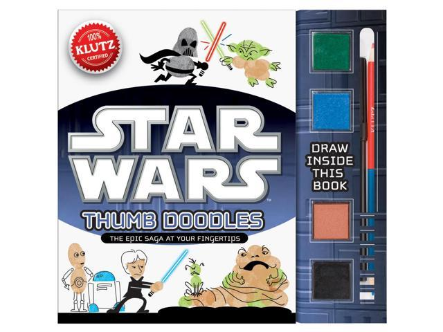 Star Wars Thumb Doodles Book Kit-
