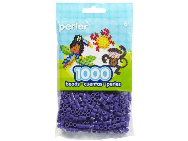 Perler Fun Fusion Beads 1000/Pkg-Purple