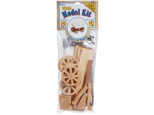 Wood Model Kit-Covered Wagon 8.5