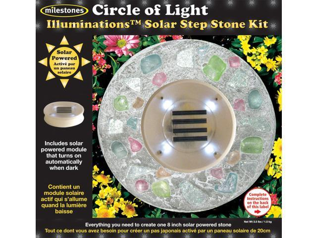 Mosaic Stepping Stone Kit-Circle Of Light