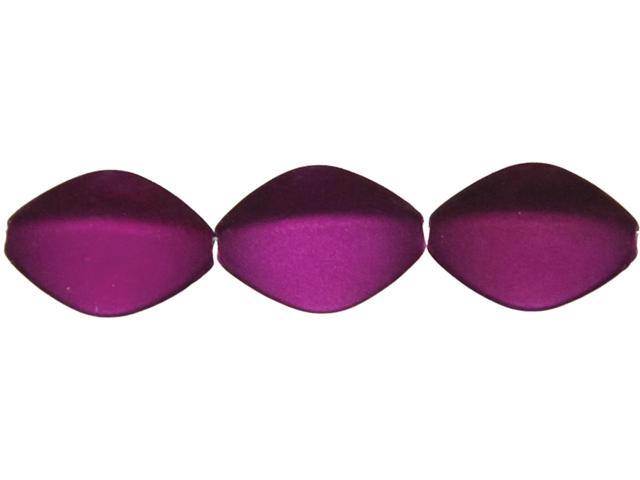 Jewelry Basics Acrylic Beads-Purple Oval 40/Pkg
