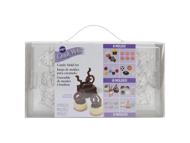 Candy Mold Set-Assorted 69 Cavity (19 Designs)