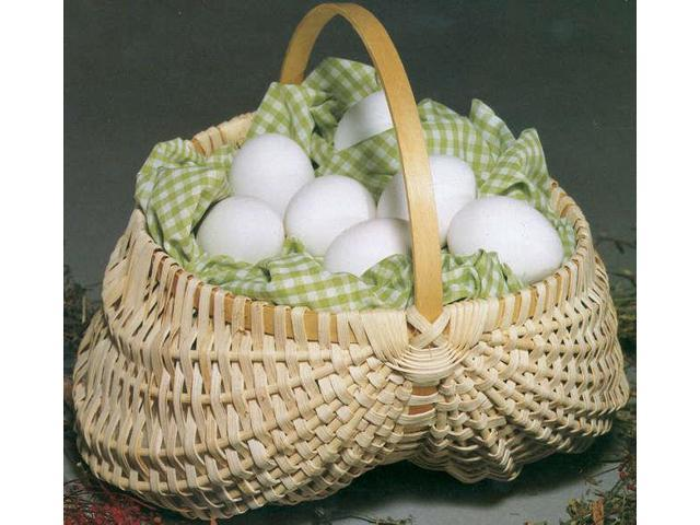 Blue Ridge Basket Kits-Egg Basket 7