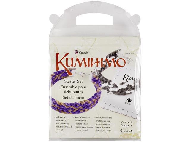 Kumihimo Starter Set 9pcs-Square