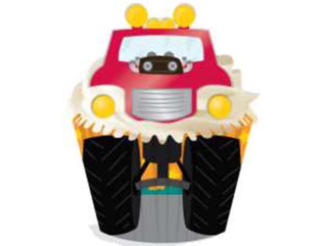 Cupcake Decorating Kit Makes 24-Truck