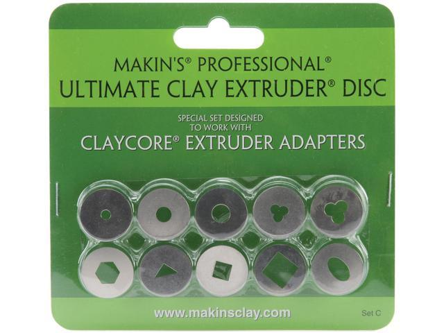 Makin's Professional Ultimate Clay Extruder Discs 10/Pkg-Set C