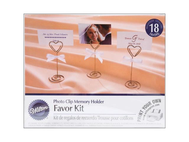Photo Clip Memory Holder Kit Makes 18-