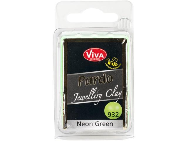 Pardo Jewelry Clay 56G-Neon Green