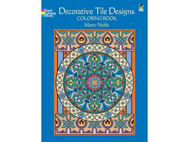 Dover Publications-Decorative Tile Designs Coloring Book