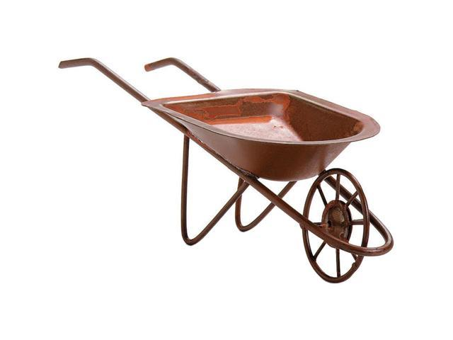 Timeless Miniatures-Rusty Tin Wheelbarrow