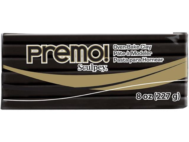 Premo Sculpey Polymer Clay 8oz-Black