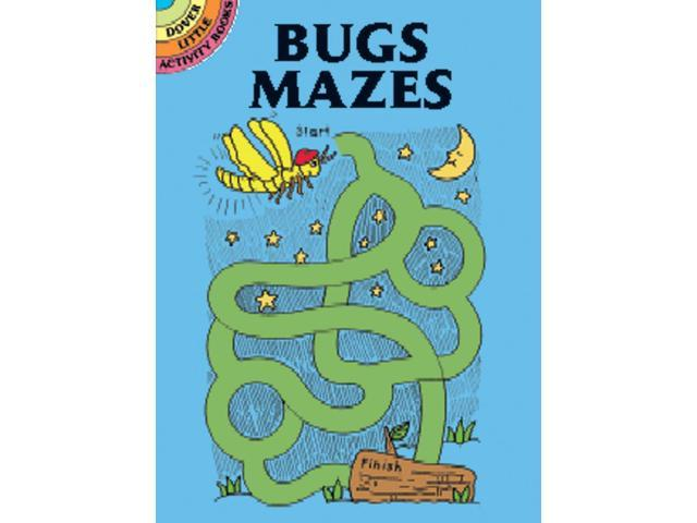 Dover Publications-Bugs Mazes Book