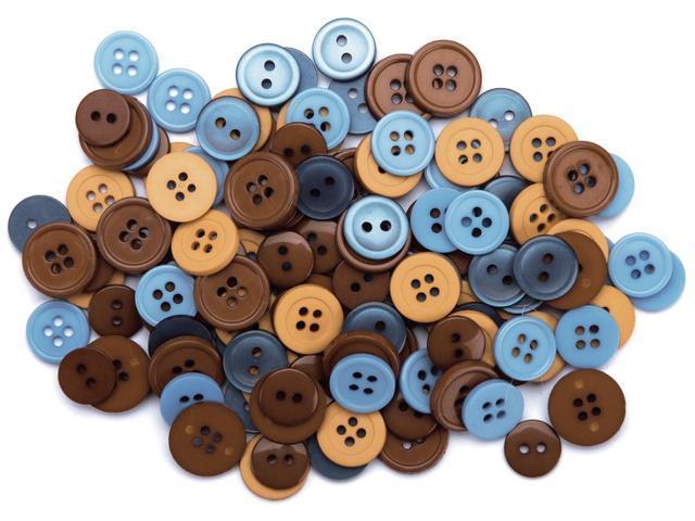 Favorite Findings Buttons 130/Pkg-Modern