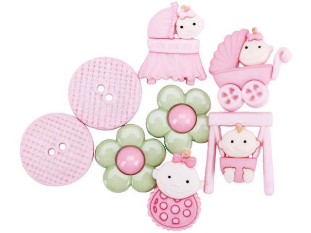 Dress It Up Embellishments-Baby Fun Girls