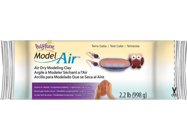 Model Air Clay 2.2lb-Terra Cotta