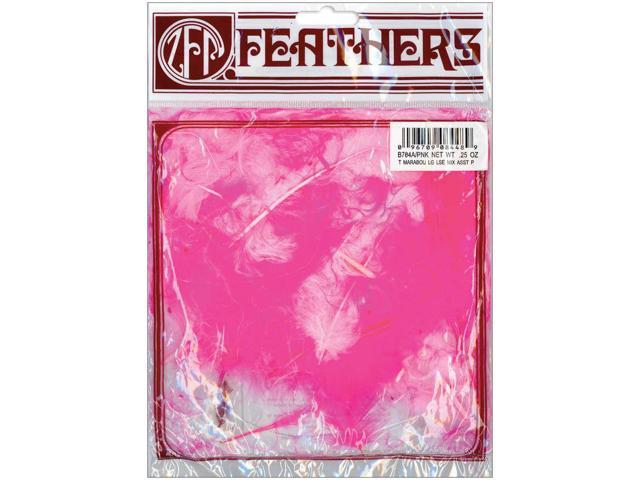 Marabou Feathers .25oz-Pink