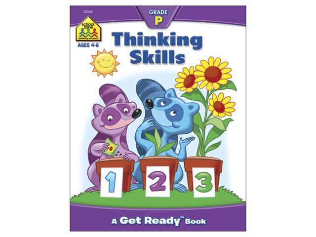 Preschool Workbooks-Thinking Skills - Ages 3-5