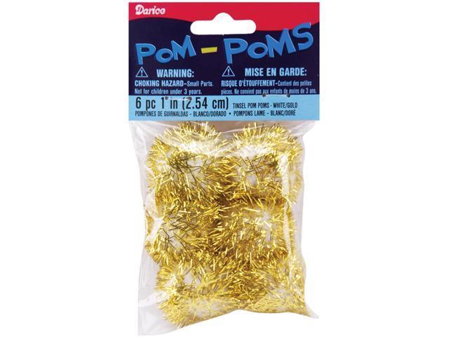 Tinsel Pom-Poms 1