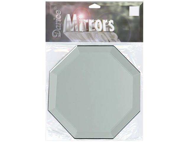 Octagon Glass Mirror W/Bevel Edge 1/Pkg-4