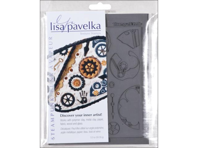 Lisa Pavelka Texture Stamp Set 4.25