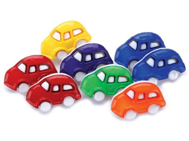 Favorite Findings Buttons-Cars 7/Pkg