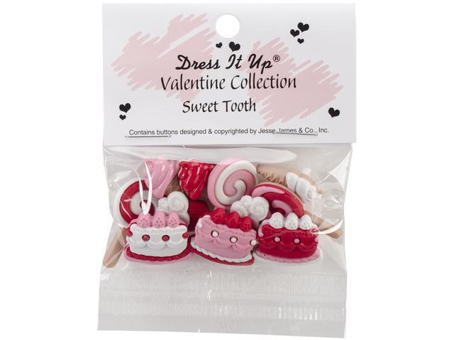 Dress It Up Holiday Embellishments-Sweet Tooth