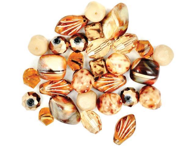 Design Elements Beads 28g-Gingersnap