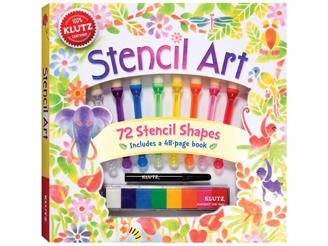 Stencil Art Book Kit-