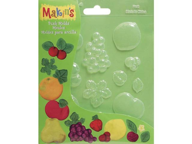 Makin's Clay Push Molds-Fruits