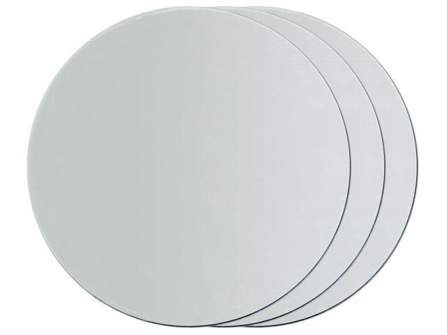 Round Glass Mirrors 3/Pkg-2.5