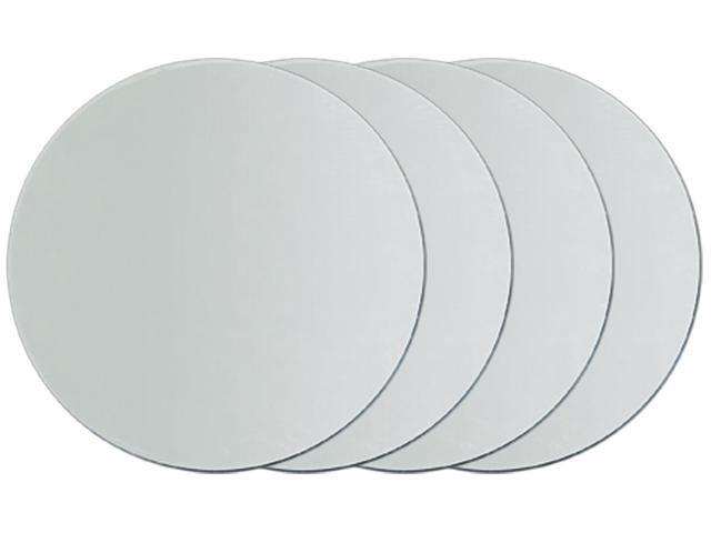Round Glass Mirrors 4/Pkg-2
