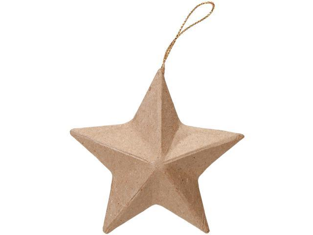 Paper-Mache Star Ornament-3