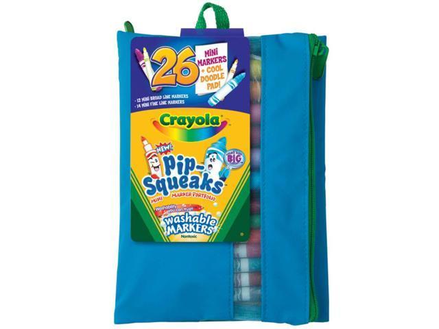 Crayola Pip-Squeaks Marker Portfolio-26/Pkg