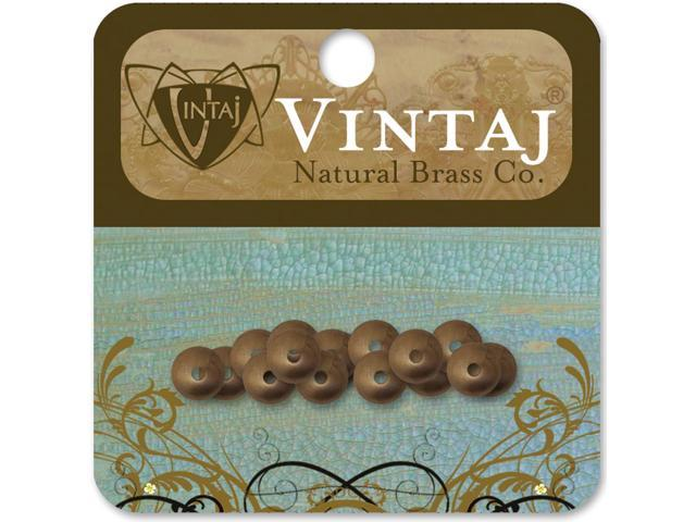Vintaj Metal Bead Caps-Classic 7mm 16/Pkg